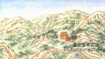 Of Imperial Summer Palace In Chengde Beijing - Chengde map