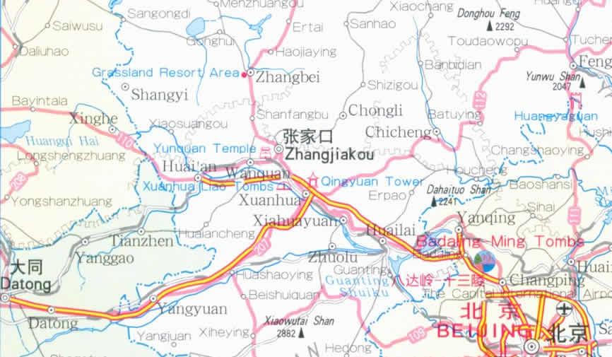 Hebi China  city photos gallery : Travel Map of Hebei Province, China