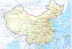 map of Highways of China