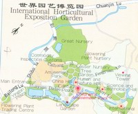 International Horti-Expo Garden Map