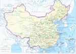 Nature Reserves of China Map