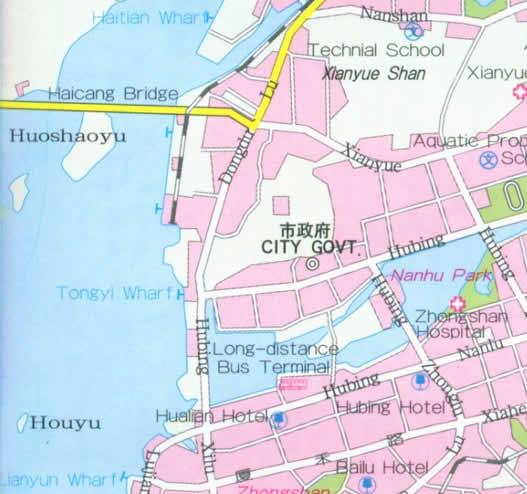 Xiamen China  city photos gallery : 1000 China Maps and China Travel Guide: Maps of China.net